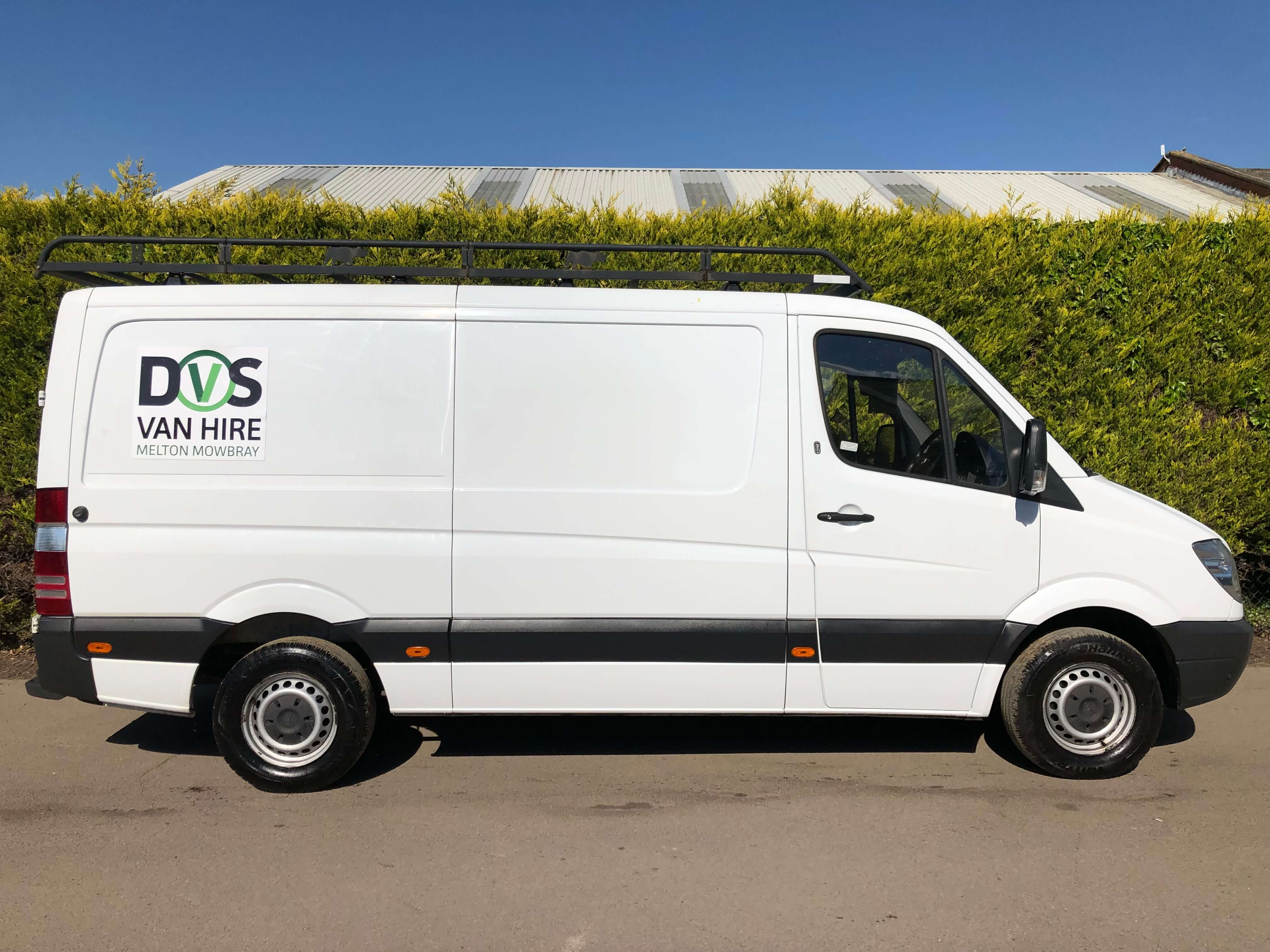 Large Van For Hire