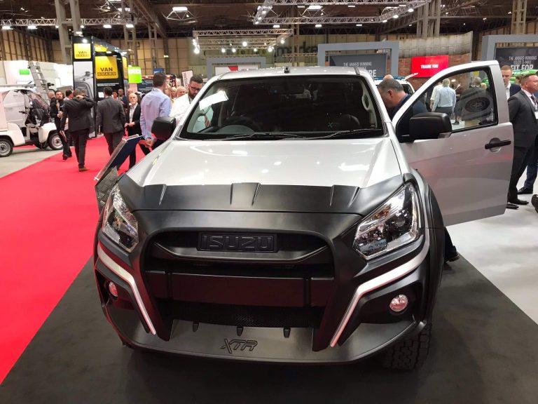 New Isuzu D Max XTR Launched at CV Show
