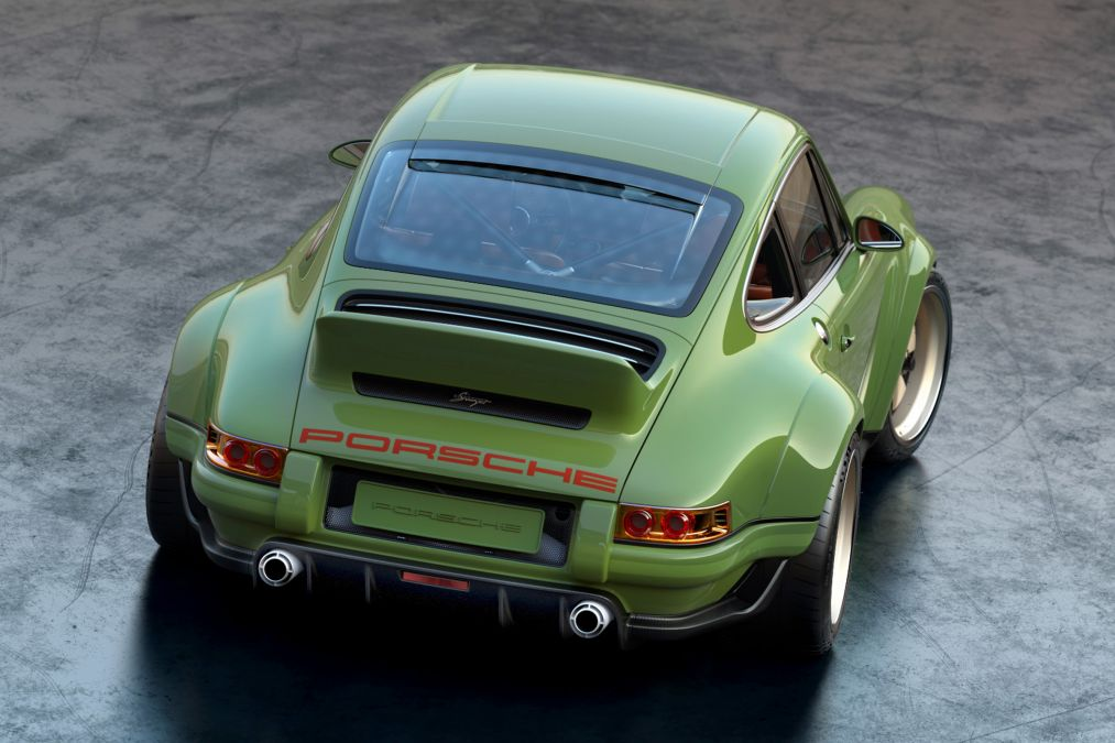 Ultimate 911 restored by Singer with help from Williams!
