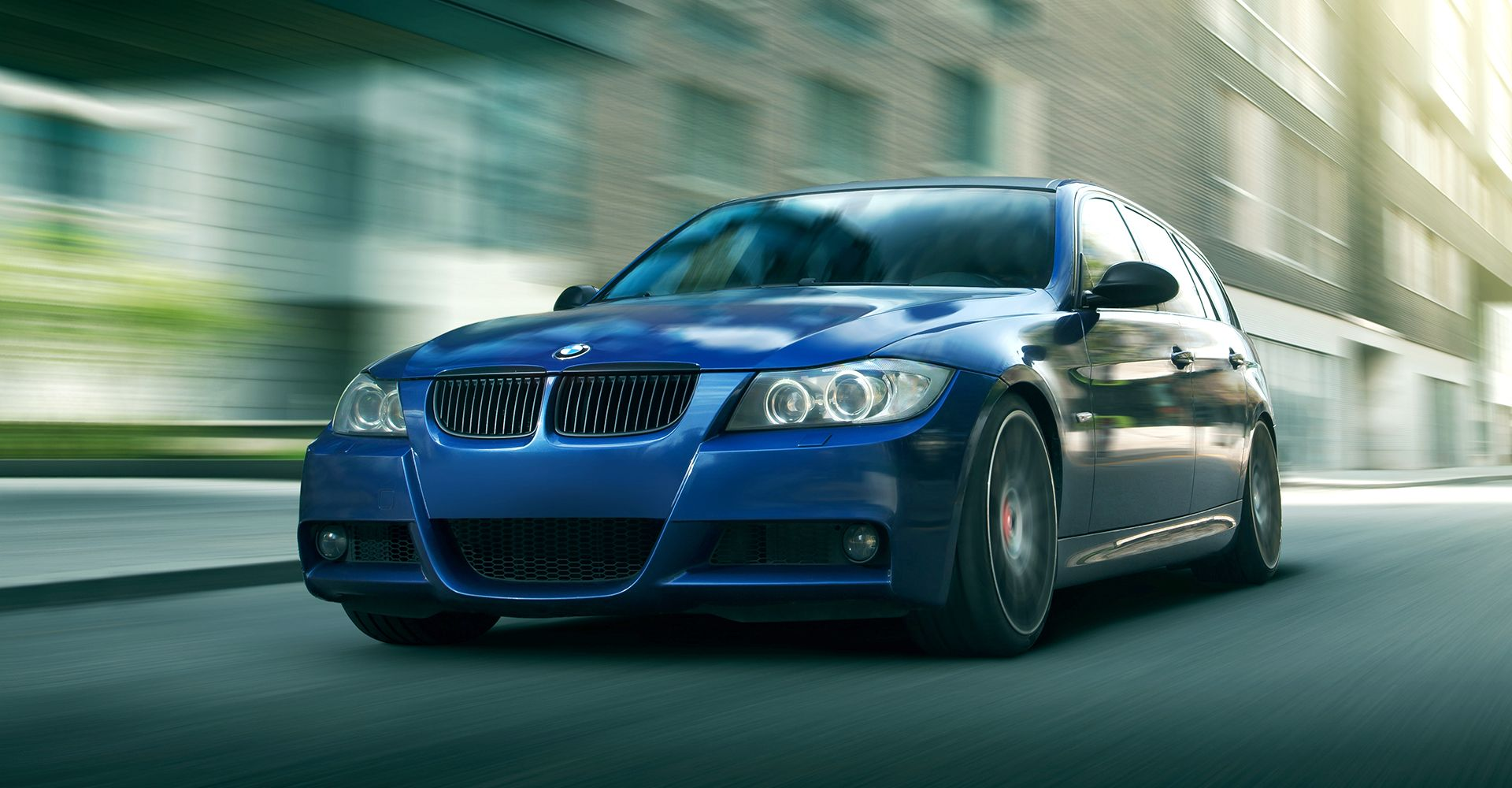 Front side photo of BMW car - Cobalt Motors Ltd