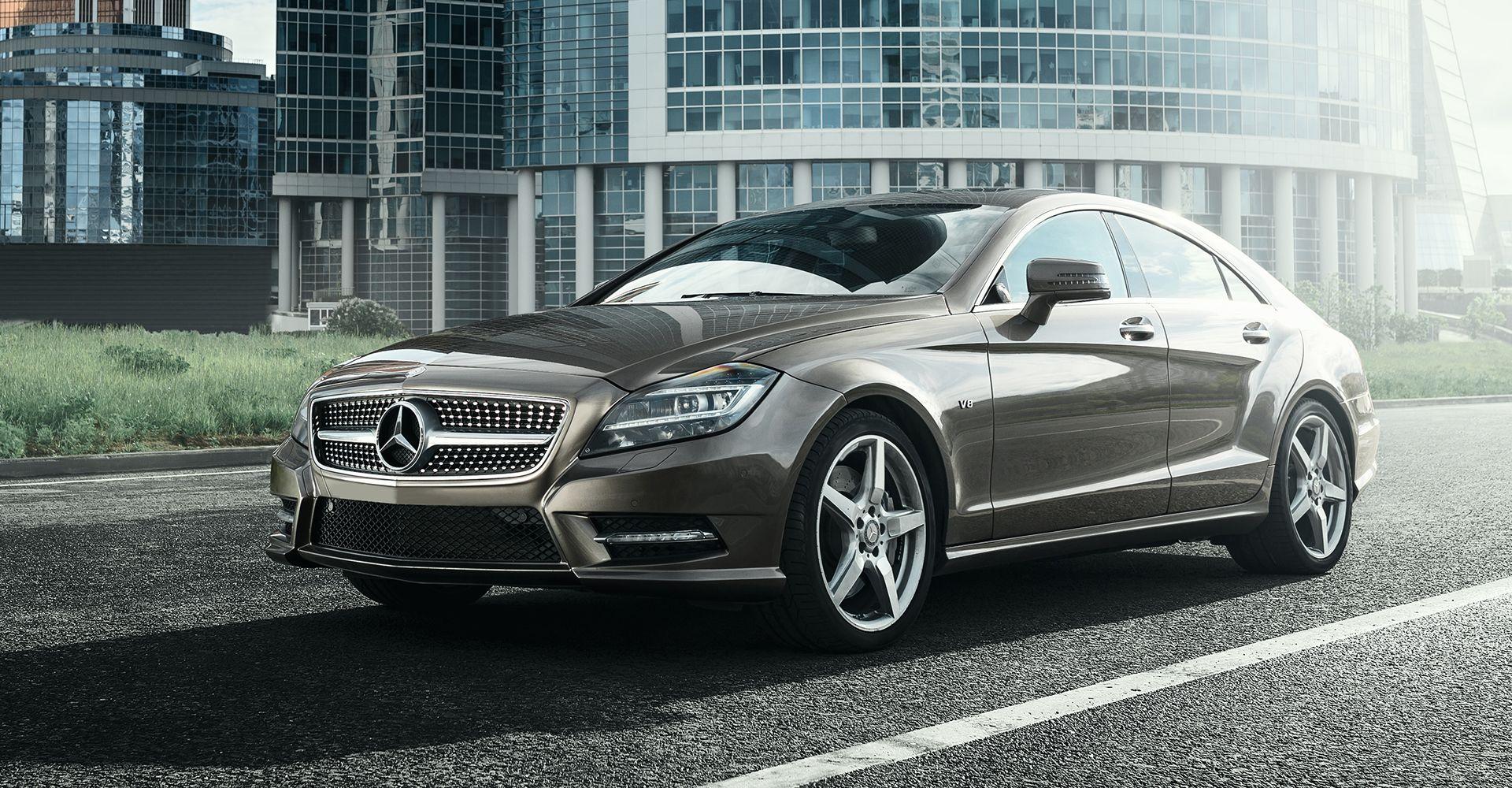 Front side photo of Mercedes car - Cobalt Motors Ltd