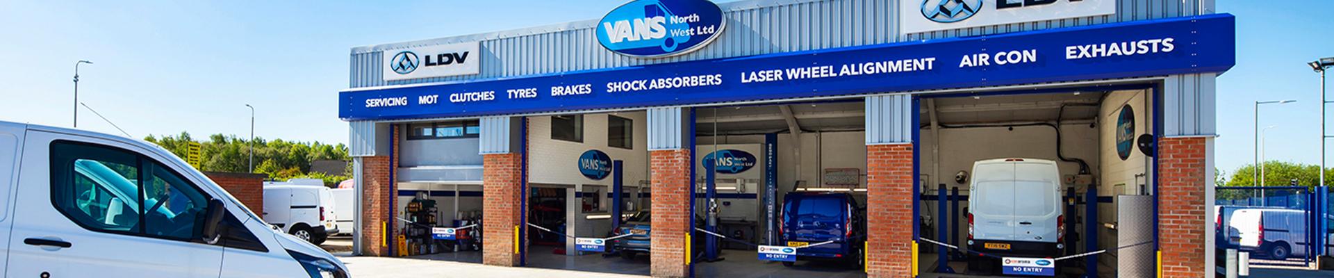Vans North West Hero Image - Vans Northwest Ltd