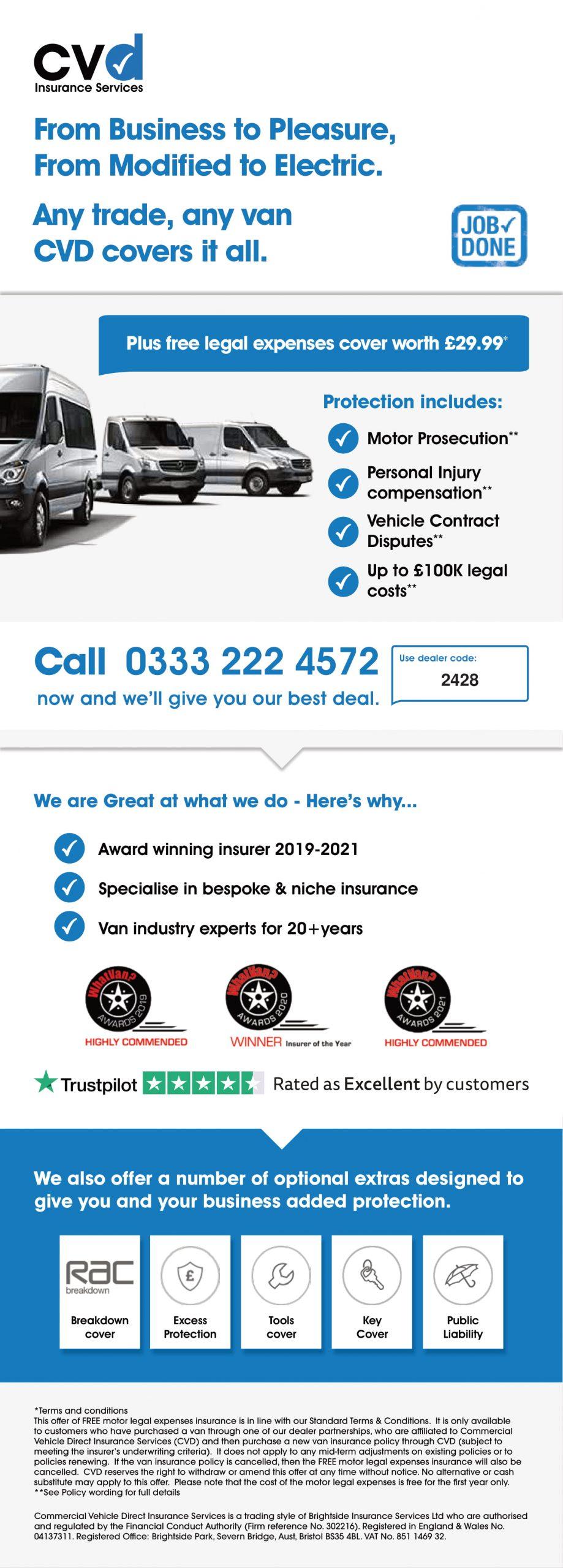 Cvd Digital Dealer Card With Dealer Code 2428 1 - Vans Northwest Ltd