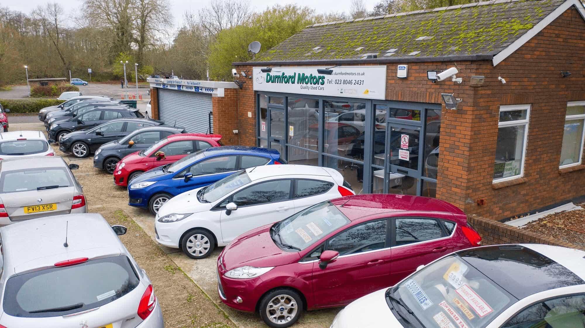 Outside Forecourt At Durnford - Durnford Motors