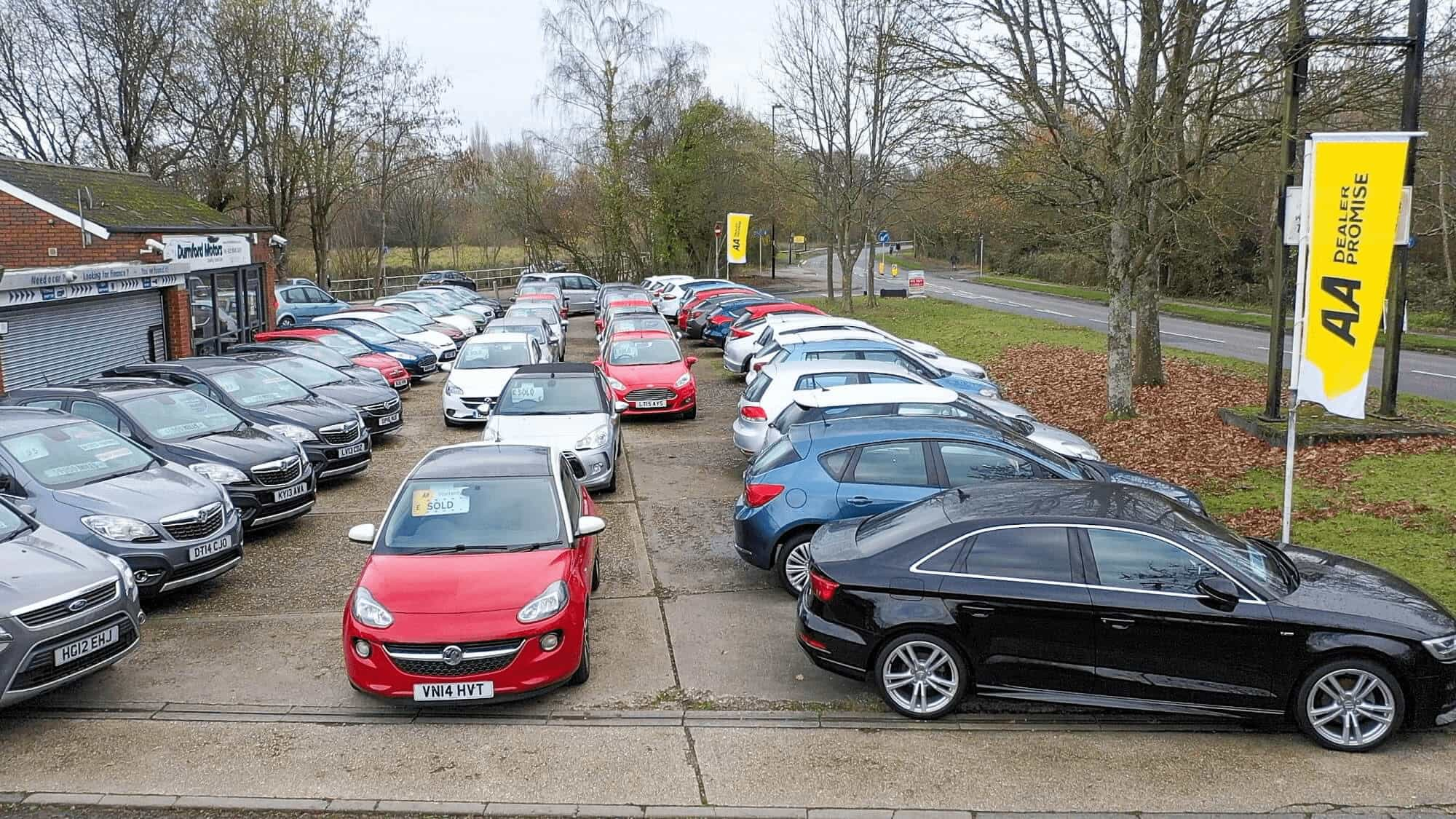 The Forecourt At Durnford - Durnford Motors
