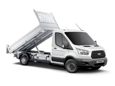 Ford Transit Double Cab Tipper l3 rwd duel wheels, 130ps  For Hire