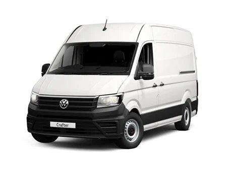 Volkswagen Crafter cr35 medium wheel base 2.0 tdi 140ps Startline  For Hire