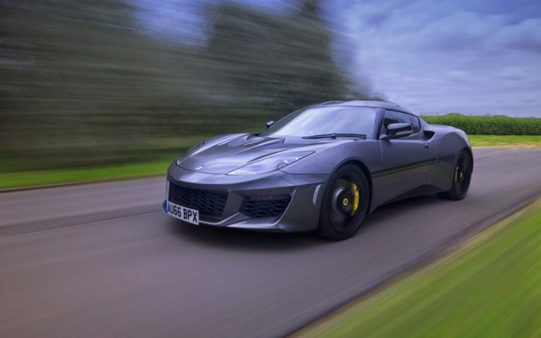 Unveiling of the Lotus Evora 410 & Race Academy Launch