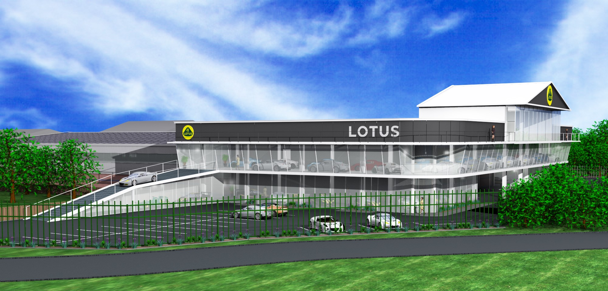 Central Lotus New Showroom - Central Lotus
