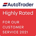 AutoTrader Highly Rated 2021