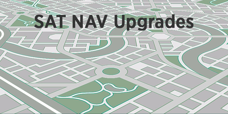 Sat Nav Upgrades - Fisher Performance Cars