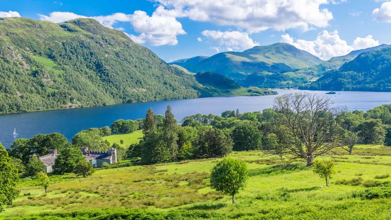 Ullswater Lake, Lake District, UK